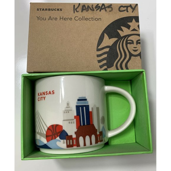 NEW Starbucks 'You Are Here' Series Kansas City